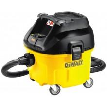 DeWALT Průmyslový vysavač na suché a mokré vysávání 30L 1400W DWV900L