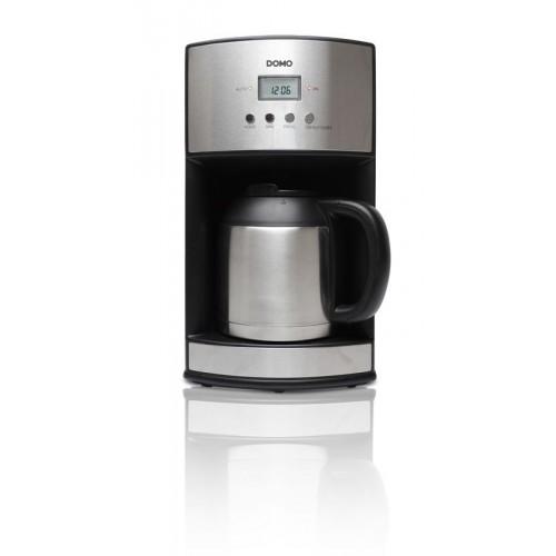 DOMO Kávovar s časovačem a termokonvicí DO474KT