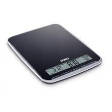 DOMO Kuchyňská váha do 10 kg - černá, DO9105W