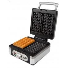 DOMO Vaflovač 4x7 s termostatem - edice Piet DO9047W