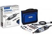 DREMEL 4000 Series Mikrobruska + 45 ks příslušenství F0134000JC