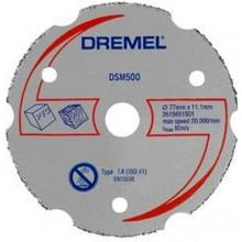 DREMEL DSM20 Univerzální karbidový řezný kotouč 77 mm 2615S500JA