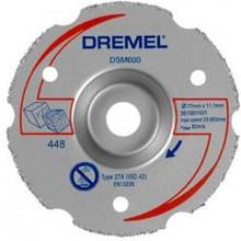 DREMEL DSM20 Univerzální karbidový zarovnávací řezný kotouč 77 mm 2615S600JA