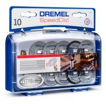 DREMEL EZ SpeedClic sada řezacího příslušenství 10 ks 2615S690JA