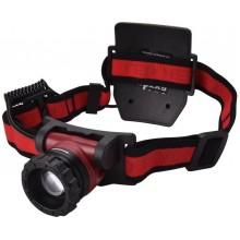 EXTOL LIGHT čelovka 450lm CREE XPL, nabíjecí, USB, 10W CREE XPL, funkce ZOOM 43190