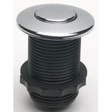 Samostatné pneutlačítko, lesklý chrom 001010086