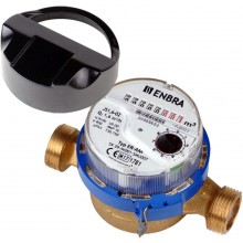 """ENBRA vodoměr 3/4"""" DN 20 délky 130 mm, studená voda 106020030"""