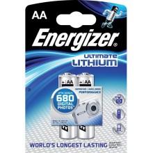 ENERGIZER Alkalické tužkové baterie Ultimate Lithium FR6/2 2xAA 35032911