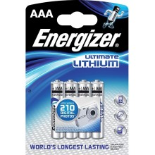 Baterie Energizer Ultimate Lithium AAA 4ks FR03/4 4xAAA 35035751