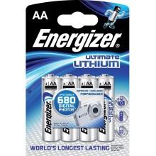 ENERGIZER Alkalické tužkové baterie Ultimate Lithium FR6/4 4xAA 35035752