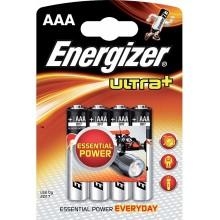 ENERGIZER Alkalické tužkové baterie Ultra+ LR03/4 4xAAA 35035757