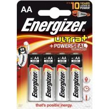 ENERGIZER Alkalické tužkové baterie Ultra+ LR6/4 4xAA 35035759
