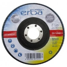 ERBALamelový brusný kotouč na ocel 125 mmZK60 ER-07141