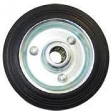 ERBA Kolo gumové černé 85 mm / 12,5 mm / 60 kg ER-33140