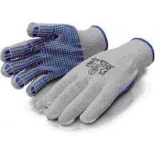 ERBAPracovní rukavice M polyesterové s PVC nopy ER-55083