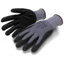 ERBAPracovní rukavice XL polyesterové potažené latexem ER-55127
