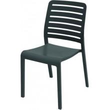 EVOLUTIF CHARLOTTE Country zahradní židle, 51 x 55 x 86 cm, tmavě šedá 17200306