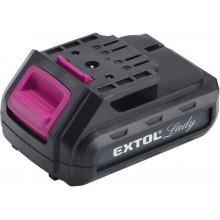 EXTOL LADY baterie akumulátorová 12V, Li-ion, 1300mAh, 1300mAh 402401B