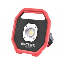 EXTOL LIGHT LED reflektor 1200lm na baterie 43260