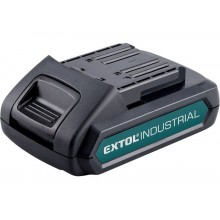 EXTOL INDUSTRIAL baterie akumulátorová 18V, Li-ion, 2000mAh 8791110B
