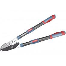 EXTOL PREMIUM nůžky na větve teleskopické převodové kovadlinkové 670-940mm HCS 8873316