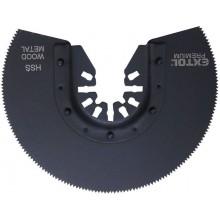 EXTOL PREMIUM kotouč segmentový pilový na kov, 88mm 8803856
