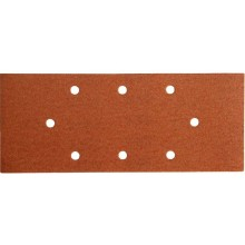 EXTOL PREMIUM papír brusný, 10ks, 93x230mm, P100, 8 otvorů 243100