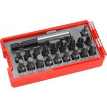 EXTOL PREMIUM hroty, sada 20ks, magnetický držák hrotů, CrV 8819640
