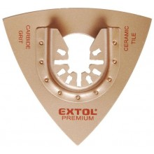 EXTOL PREMIUM rašple trojúhelníková, 78mm 8803860
