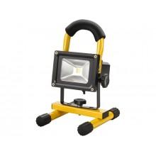 EXTOL reflektor LED 10W, nabíjecí, s podstavcem 43122