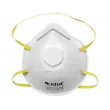EXTOL PREMIUM respirátory s výdechovým ventilem FFP1, sada 5ks, tvarované 8856715