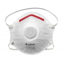 EXTOL PREMIUM respirátory s výdechovým ventilem FFP2, sada 5ks, tvarované 8856724