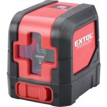 EXTOL PREMIUM laser zelený liniový, křížový samonivelační 8823306