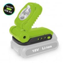 FIELDMANN FDUL 50901-0 AKU LED svítilna, bez baterie 50002066