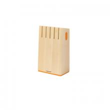 FISKARS Functional Form blok pro 5 nožů, přírodní (200083) 1014228
