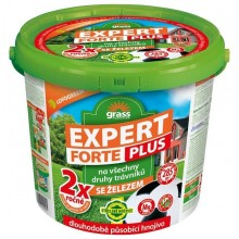 FORESTINA Trávníkové hnojivo Expert Forte Plus 10kg kbelík, 1206014