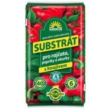 FORESTINA Substrát pro rajčata, papriky, okurky… 40 l