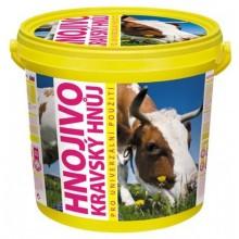 Hnojivo kravský hnůj 3 kg