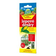 FORESTINA Zdravá zahrada - lepové desky do interiéru žluté 20x7,5cm 5ks 1291009