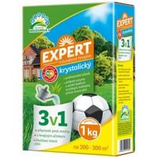Expert Trávníkové hnojivo 3v1 1kg - proti mechu a likvidaci plsti 1206053