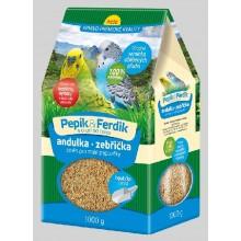 FORESTINA PEPÍK&FERDÍK krmná směs pro malé papoušky 1000g