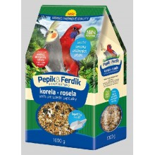 FORESTINA PEPÍK&FERDÍK krmná směs pro střední papoušky 1000g