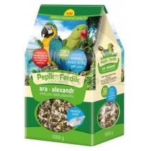 FORESTINA PEPÍK&FERDÍK krmná směs pro velké papoušky 1000g
