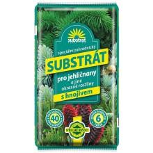 Hoštický substrát - Substrát pro jehličnany a jiné okrasné rostliny 40L