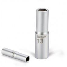"""FORTUM hlavice nástrčná prodloužená, 1/2"""", 14mm, L 77mm 4700514"""