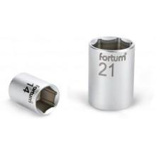 """FORTUM hlavice nástrčná, 1/4"""", 12mm, L 25mm, 61CrV5 4701412"""