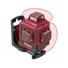 FORTUM laser červený 3D liniový, křížový samonivelační 4780215