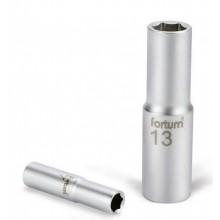 """FORTUM hlavice nástrčná prodloužená 1/4"""", 9 mm, L 50mm 4701522"""