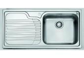 Franke Galassia GAX 611/7, 1000x500 mm, nerezový dřez + sifon 101.0120.145