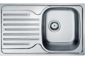 Franke Polar PXN 611-78, 780x490 mm, nerezový dřez 101.0286.080